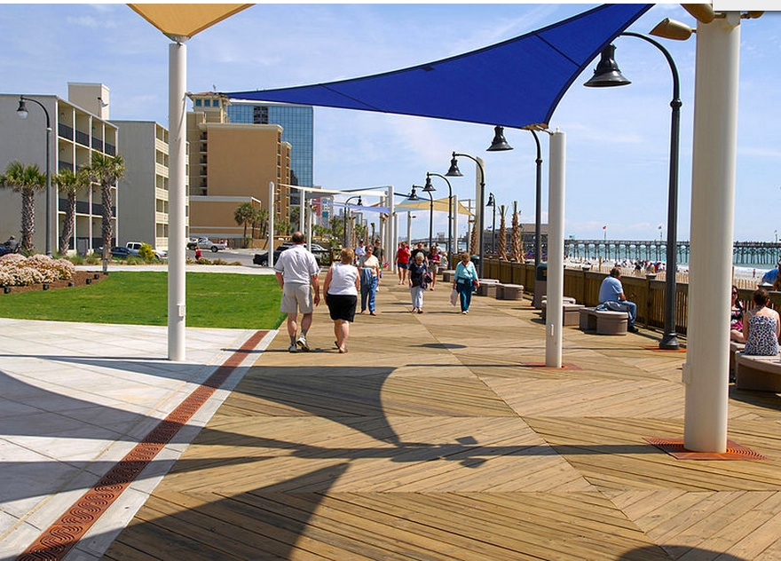 Myrlte Beach boardwalk